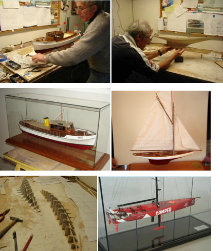 Bruce Tantrum - artisan model boatbuilder
