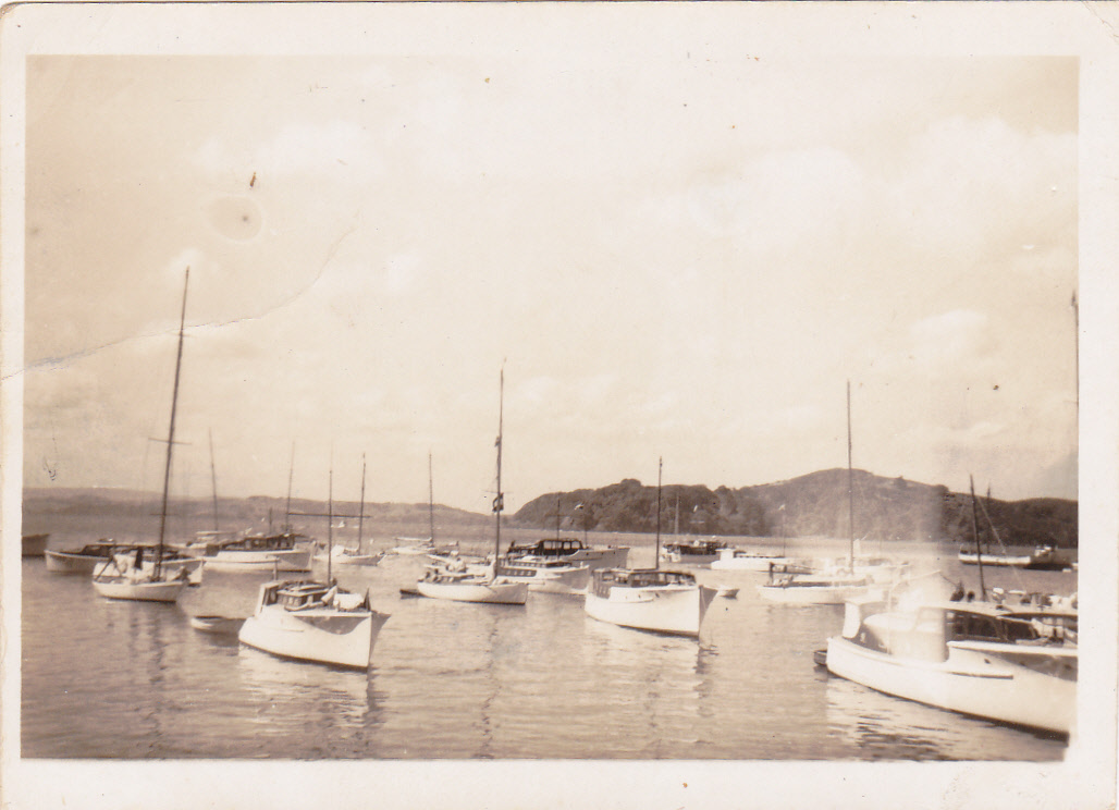 Mansion House Bay, Kawau Island c.1948