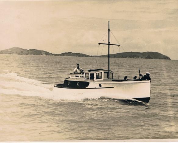 Waitangi - the motor launch