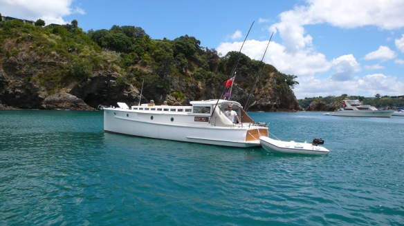 One of the most iconic woodies on the waitemata harbour is for sale - Be quick.