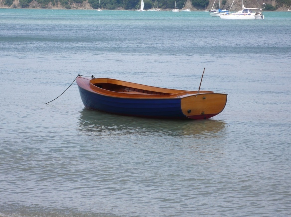 NZ Traditional Boating Building School - Picnic Boat