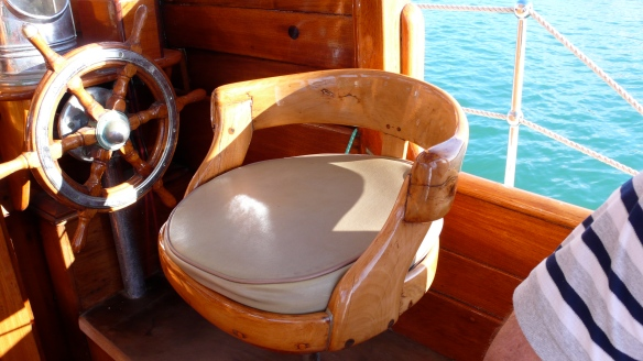 Now this is a what I call a woody helm seat.