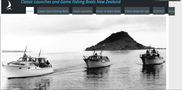 Classic game fishing boats & launches