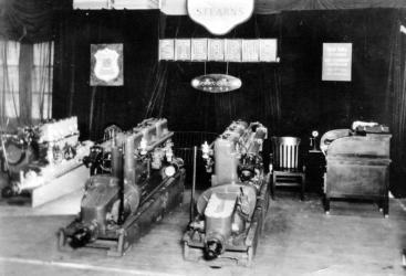 Stern Marine engines