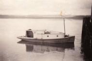 Vesper tied off Ruawai Wharf