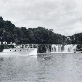 Photo 3 - Lady Margaret (L) & Alcestis at Haruru Falls