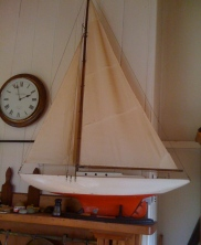 My pond yacht