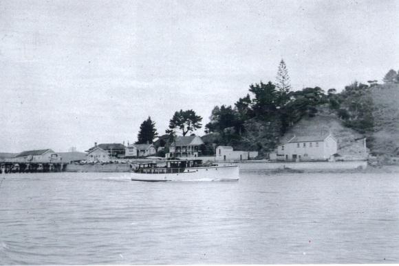 Shenandoah Xmas 1931:2 at Mangonui