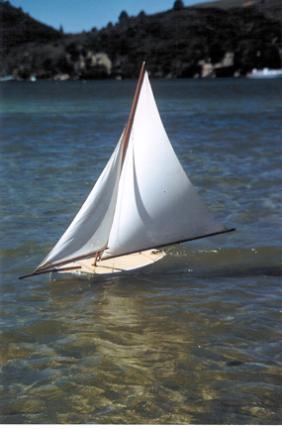 White Heather Under Sail