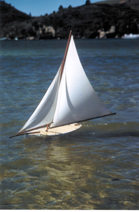 White Heather Under Sail