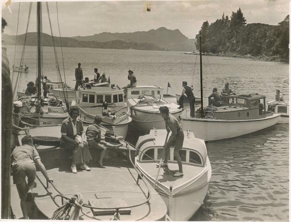 Whitianga New Years Day Regatta #2 c.1950/51