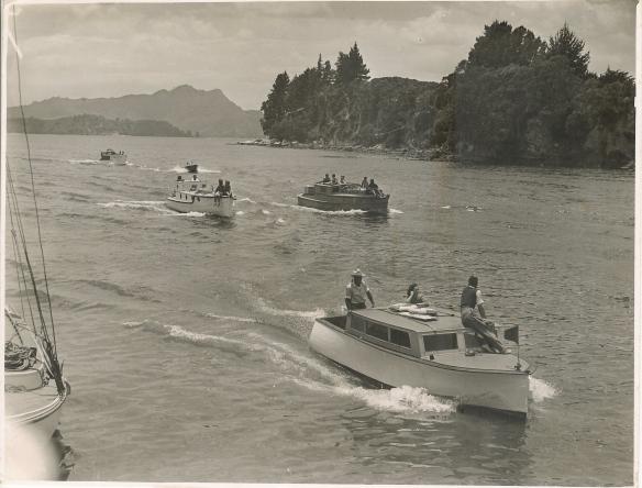 Whitianga New Years Day Regatta #1 c. 1950/51