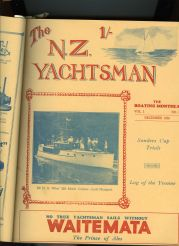 Lady Margaret NZ Yachtman Vol 3 1936 p.1