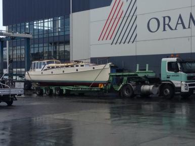 Ngaio hauled out 07:2013