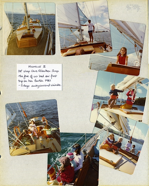 Old style family sailing