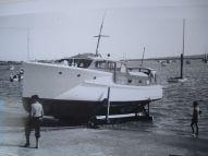 TIROMOANA AFTER SLIPPING AT OKAHU BAY 1950S