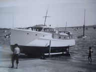 TIROMOANA AFTER SLIPPING AT OKAHU BAY 1950S