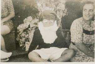 TIROMOANA BRIDGE DECK CHRISTMAS DAY 1944