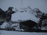 TIROMOANA CIRCA 1951 OKAHU BAY - HENRY & MRS HENRY ALLEN IN COCKPIT