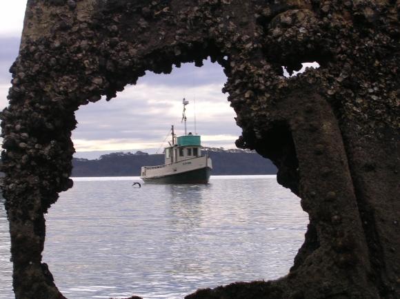Oct 2005 - thru wreck of Rewa