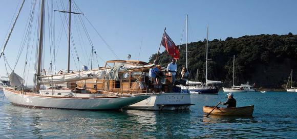 Rawene & Lady Gay & Peg (dinghy)