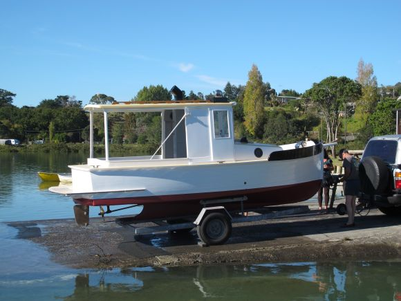 Andersons 18ft boat