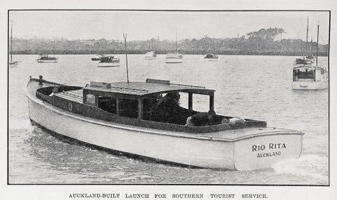 Rio Rita lauching 1929