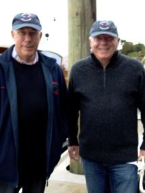 Peter Board & Alan H sporting CYA Canada caps