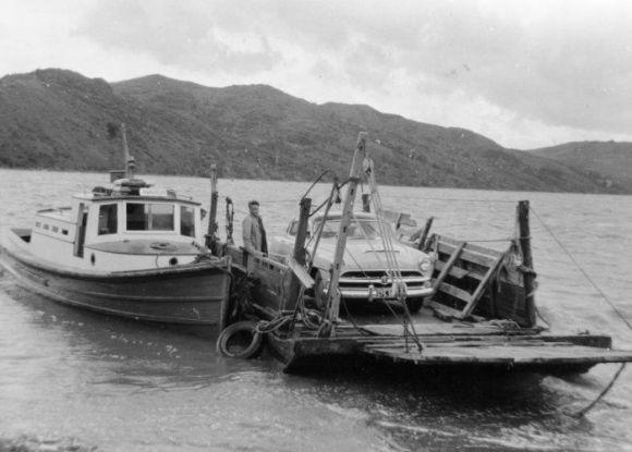 Awaroa at Rawene c.1950's