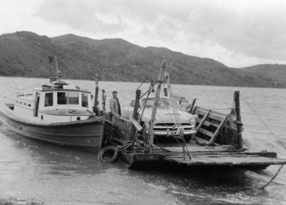 Awaroa at Rawene c.1950's