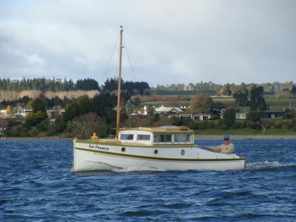 Sir Francis Lake Taupo 2013