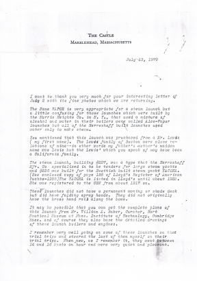 LFH 1970's Letter1
