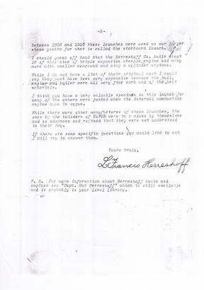 LFH 1970's Letter2