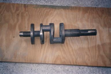 Crankshaft casing
