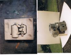 McMullen Engine cylinder & moulding 1987