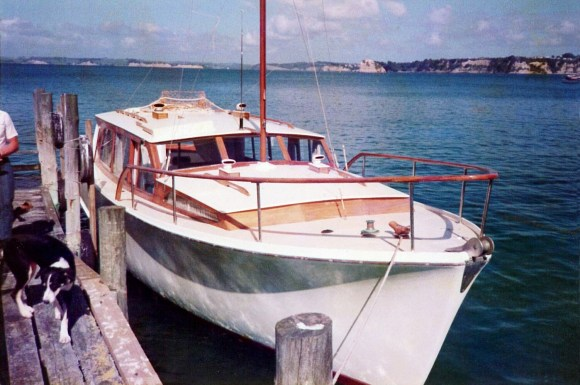 Awatere Boat early 80's