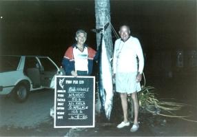 Bob Hawke with Wahoo caught in Fiji 4