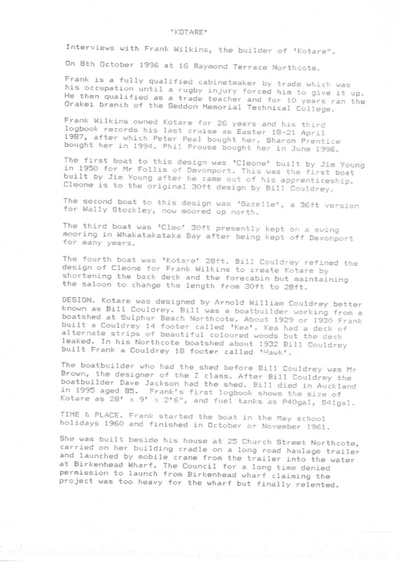 Kotare Page 1