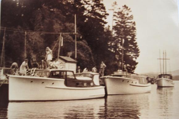TIROMOANA AWARUA & QUERY MOVARIE MANSION HOUSE BAY c1947