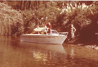Lional Sands boat
