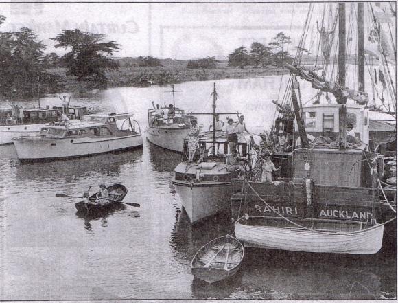 Waipu Landing 1953