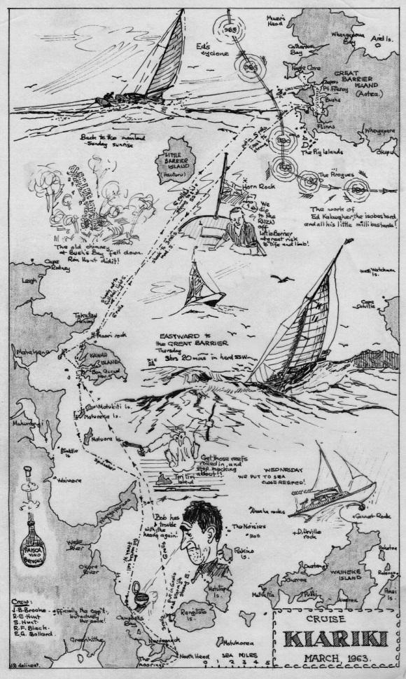 Kiariki Cruise Mar 1963
