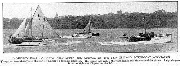 march 1930 Kawau race npba