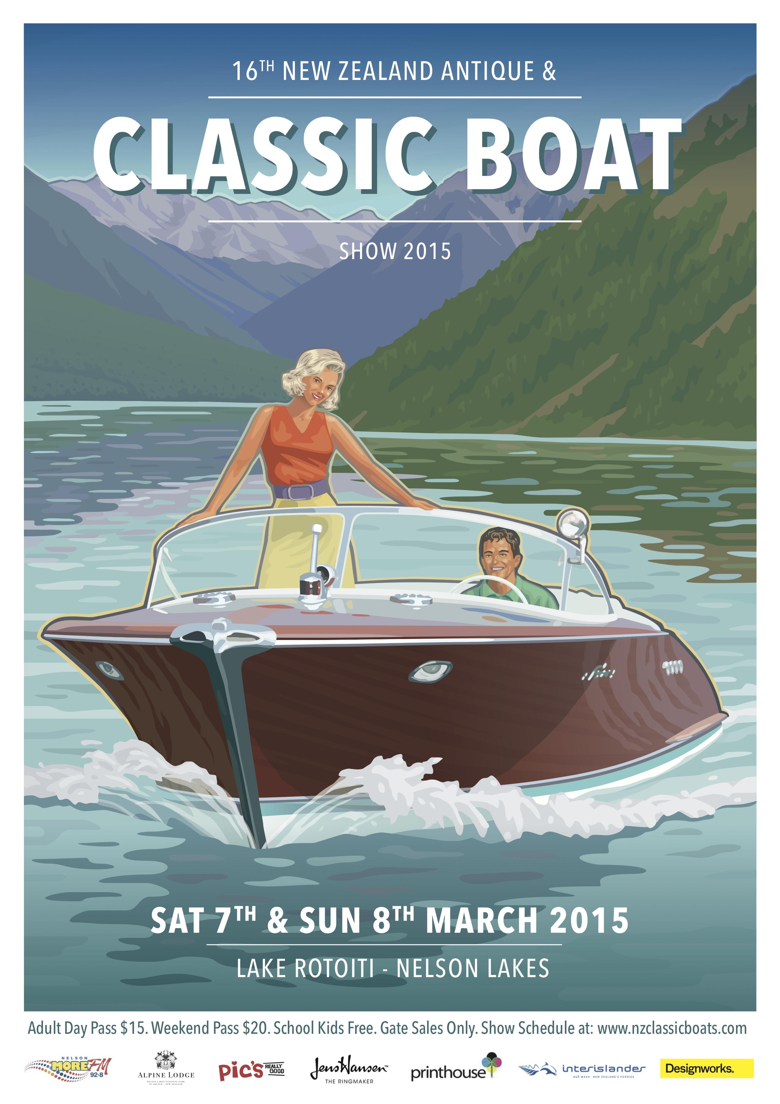 nz antique  u0026 classic boat show 2015