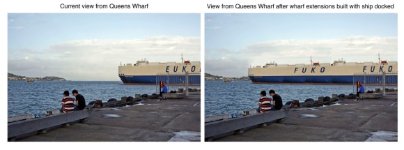 Bledislow Wharf Extension Comparison 2