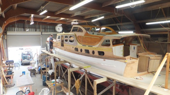 LADY EILEEN BY SHIPBUILDERS 1947 - 2015 REFIT BY & FOR HYLTON EDMONDS -1