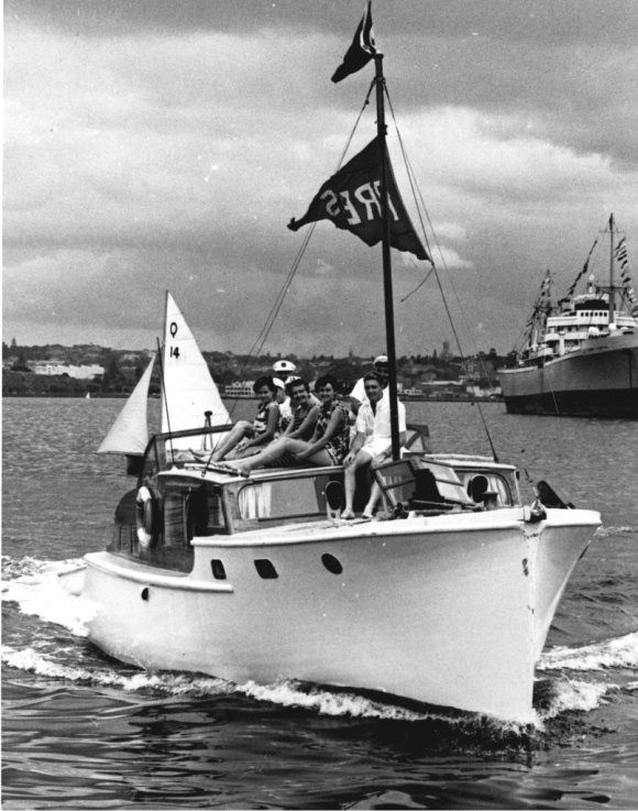 Akl Anniversary Regatta press boat