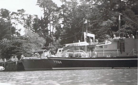 kawau PT navy boat