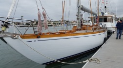 ROSE WILDER 1968 Sparman & Stephens / Canteri Sangermani Sloop Carvel construction, fin keel, skeg hung rudder