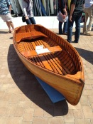 A lovely clinker / lapstrake dinghy